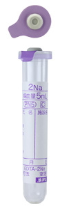 Containing EDTA-2Na (2 or 5mL vacuum blood sampling tube)